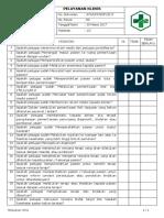 Daftar Tilik Pelayanan Klinis