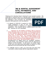 Catering Agreement Contract 08