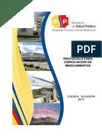 Protocolo Para Conciliacion de Medicamentos