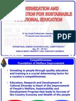 8. Vocational and Revitalization VE - Mr Gunadi