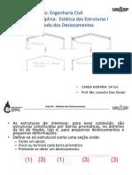 AULA 06 - ESTATICA 1 - Método Dos Deslocamentos