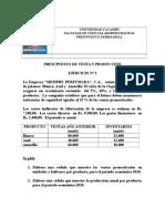 Ejercicio N 2 PARA RESOLVERPresupuesto de v y P