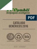 Catalogo Empaques Genericos