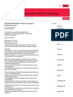 IBM Watson and Cognitive Computing