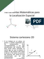 Herramientas Matemáticas Para La Localización Espacial