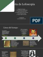 Historia de Lofoscopia