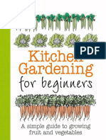 kitchen gardening for beginner