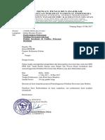 Surat Pemberitahuan Pelatihan