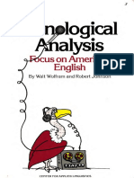 Wolfram, Robert Johnson-Phonological Analysis_ Focus on American English-Centre for Applied Linguistics (1982)
