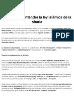 Claves para entender la ley islámica de la sharia - Infobae