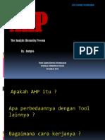 Ahp Presentasi Penyempurnaan