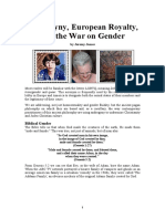 Androgyny, Royalty, And the War on Gender