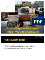 Promoting Film Tourism in India