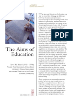 Aims of Education