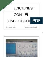 Mediciones Con El Osciloscopio