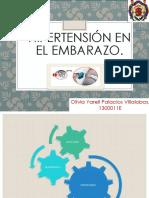 Hipertension en El Embarazo.