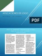 Aplicaciones de Logo