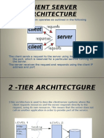 Client Server Architecture for DOT NET
