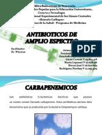 farmacologia UNERG ANTIBIOTICOS DE AMPLIO ESPECTRO