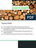 timber research project