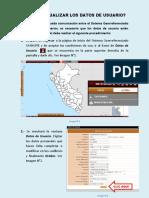 Guía de Actualización de Datos de Usuario Sayhuite