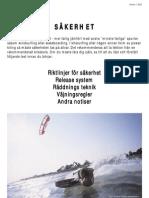 SÄKERHE T - Kitesurfing