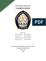 Makalah Carbon Steel Kelompok 11