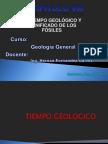El Tiempo Geológico y Significado de Los Fósiles