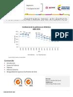Atlantico Pobreza 2016 (DANE)