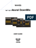 DTS Neural DownMix