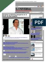 Analizan Problemas Pesqueros en El Golfo de Morrosquillo _ EL UNIVERSAL - Cartagena