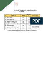 Codigo de Tributos de Pago Banco de La Nacion 2017 II