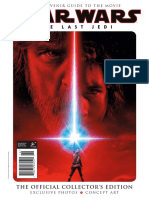 Star Wars the Last Jedi ; The Official Collector's Edition - 2017