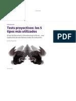 Tests Proyectivos_ Los 5 Tipos Más Utilizados