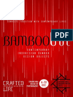 Bambooina Exhibit Catalogue Chiang Mai Design Week 2017