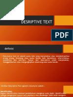 DESRIPTIVE TEXT pemntapan.pptx