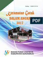 Kecamatan Gatak Dalam Angka 2017