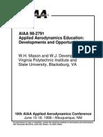 (Aero ebook) - Applied Aerodynamics Education - Mason