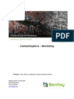 ContextCapture Workshop En
