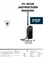 Yaesu FT-203R Instruction Manual