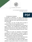 Cialente La Lettera a Napolitano