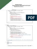 Pembahasan Uas Pemrograman Berorientasi Objek 2013-2014