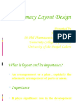 pharmacy layout ppt