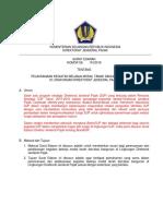 SE-........ th 2018 - Pelaksanaan Belanja Modal Tanah dan atau bangunan.docx