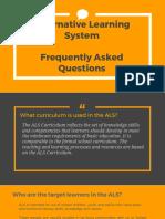 ALS FAQ