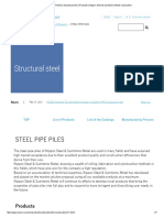 STEEL PIPE PILES _ Structural Steel _ Products _ Nippon Steel & Sumitomo Metal Corporation