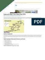 Kedarnath Yatra Route Map 2018 - Road Map From Delhi to Kedarnath