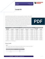 TG16 Conduit Fill Requirements
