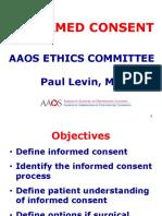 Ethihcs Informed Consent
