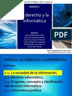 La Informatica y El el derecho